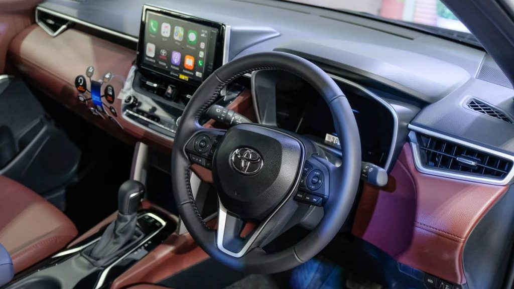 Interior Toyota Corolla Cross